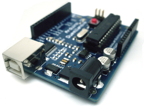 Getting Started with Arduino Duemilanove