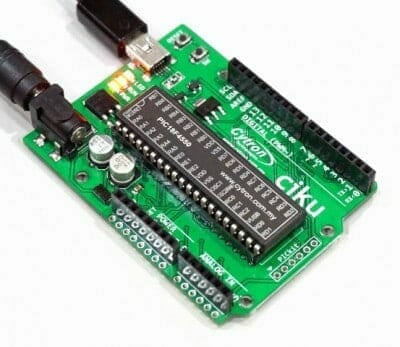 Simple steps to control Stepper Motor using 2Amp Motor Driver Shield and CIKU