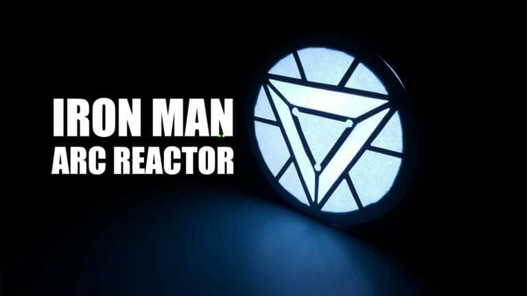 Iron Man Arc Reactor Using LED Ring and Maker UNO