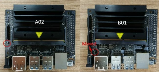 Changed The Position Of Power Select Header J48