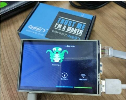 """OctoPi Touch Screen with 3.5"""" SPI Graphic and Controller"""