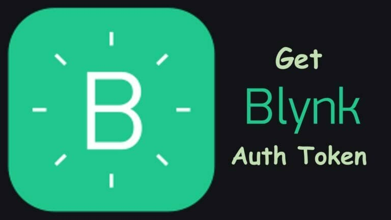 How to get Auth Token from Blynk