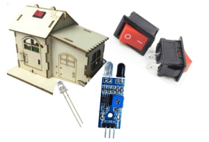 In-Home Security System using Maker Uno.